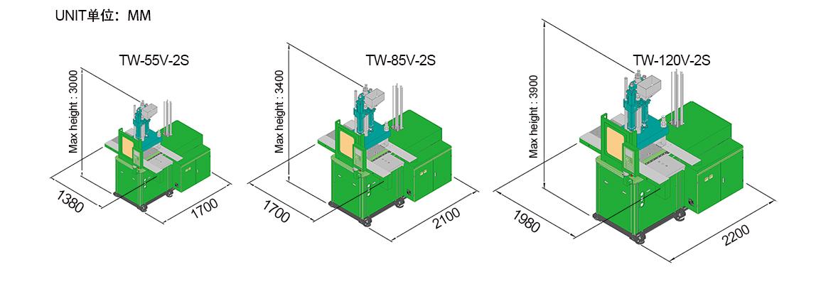 W-V-2S Double Sliding Table Vertical Moulding Machine