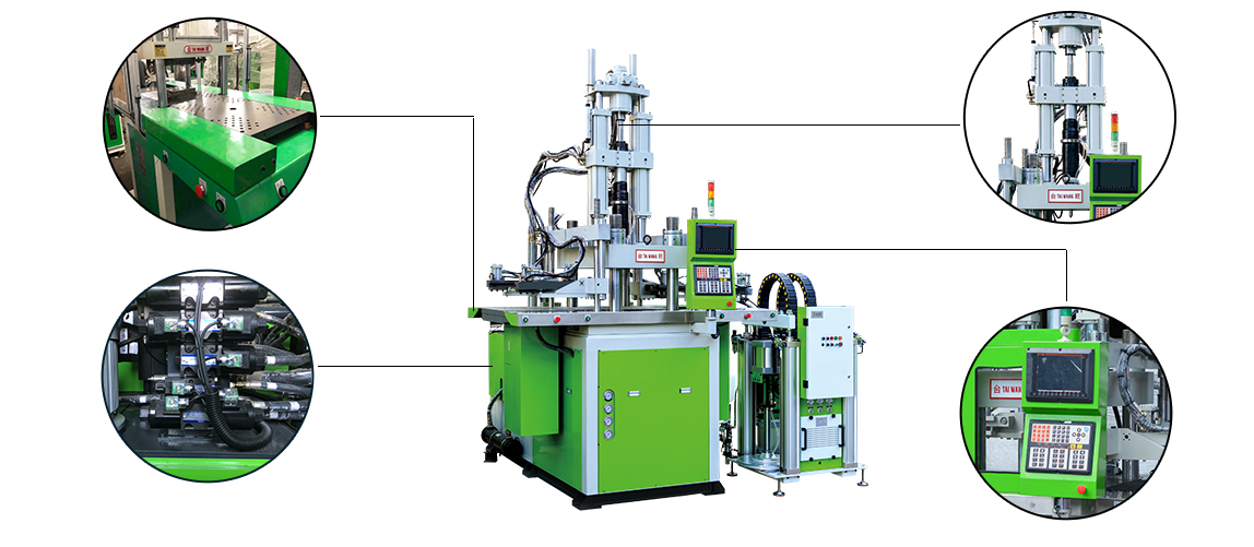 TW-V-G LSR Liquid Silicone Injection Machine