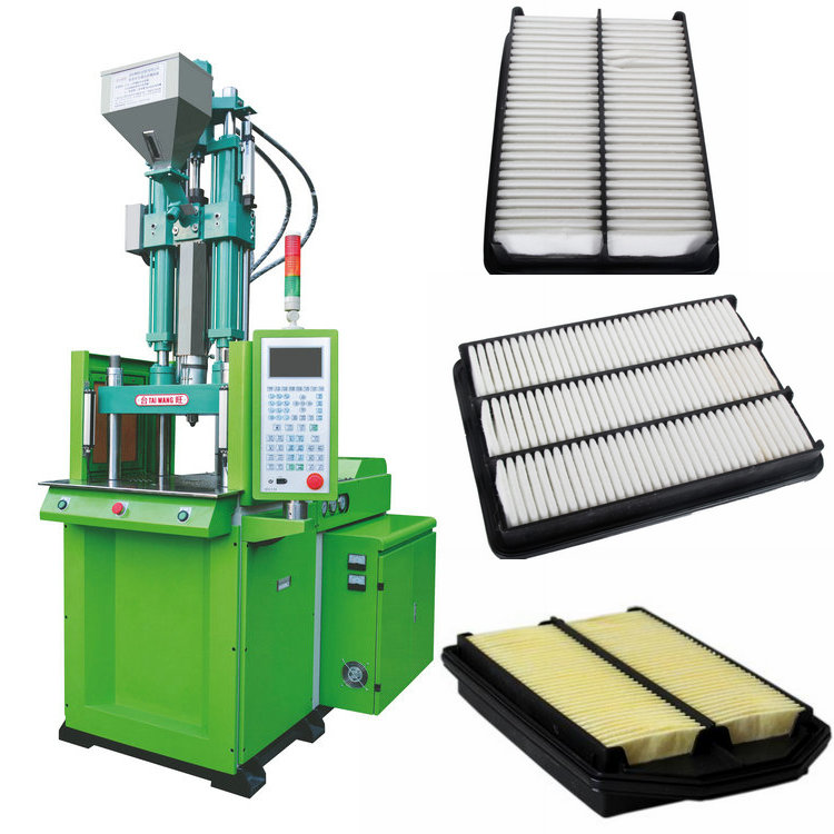 Air filter injection machine