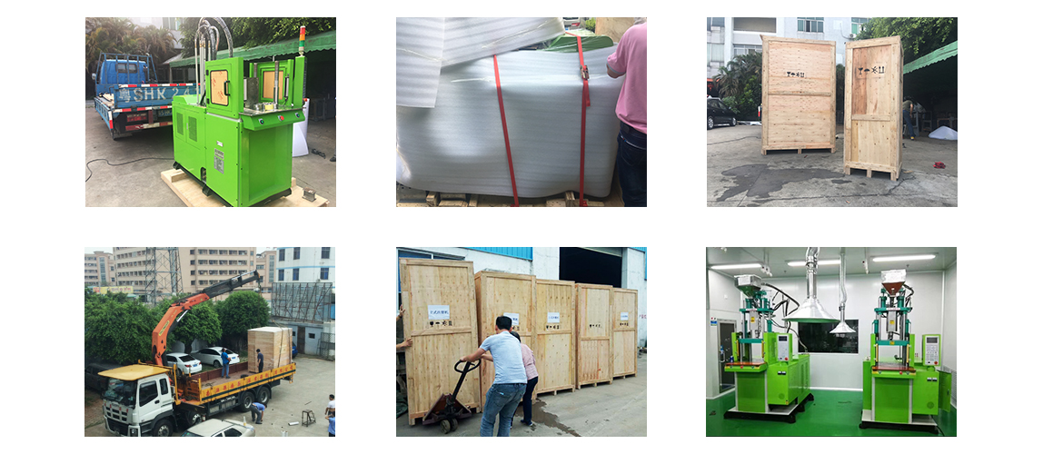 package for vertical injection molding machine
